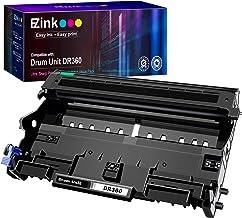 جوهر E-Z Ink (TM) جایگزین واحد درام سازگار برای Brother DR360 DR 360 برای استفاده با DCP-7040 DCP-7030 MFC-7840W MFC-7340 MFC-7440N HL-2140 HL-2170W HL-2150N (1 بسته)