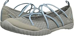 Light Grey/Stone Blue Mesh/Microbuck