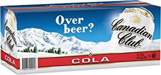 Canadian Club Whisky & Cola Cans 10 Pack, 375ml (Pack Of 10)