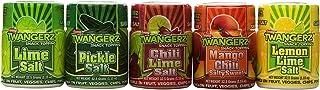 Twang Twangerz Flavored Salt Snack Topping Lemon, Lime, Pickle, Chili & Mango (Assorted 10 Pack)