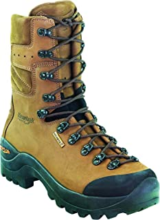 KENETREK Men's Mountain Guide Non-Insulated Abrasion-Resistant Waterproof Reinforced Leather Hiking Boots