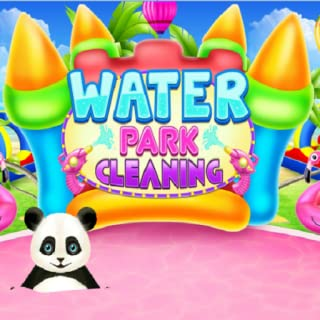 WATER PARK CLEANING - dress up games for girls/kid