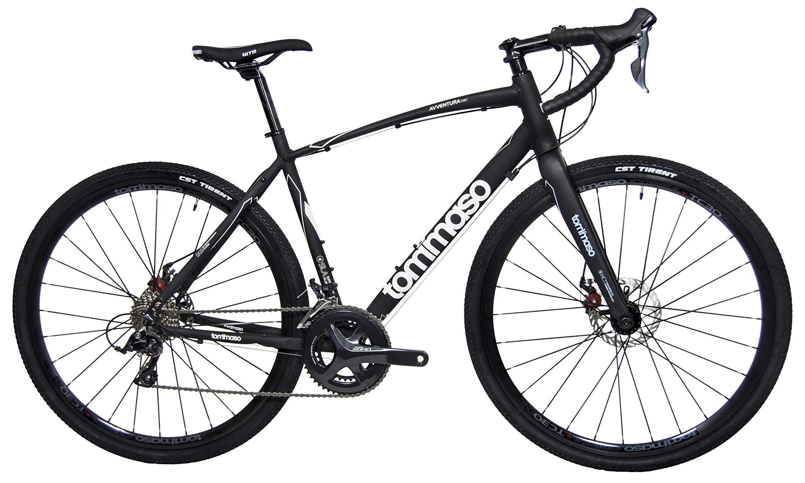 Tommaso Avventura Shimano Sora Gravel Bicicleta de Aventura con ...