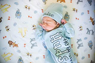 Little Brother Pastel Personalized Coming home gown