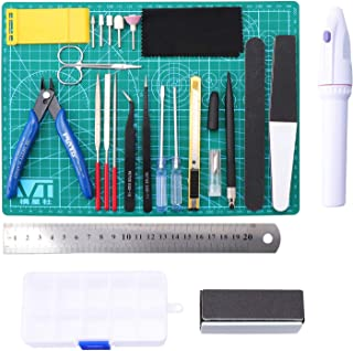 Gundam modèle d'outils de Construction kit de Jeu d'artisanat 26 pièces modèle de Passe-Temps Assembler Le bâtiment pour l...