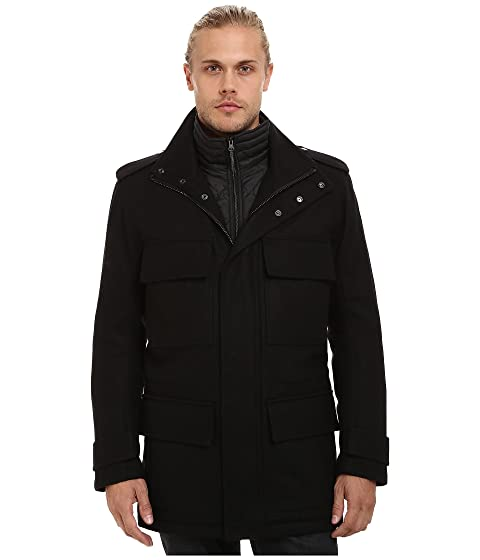 Bib Andrew Marc Wool Car York by Pressed Marc Liberty Quilted Removable w New Coat HwwtqO