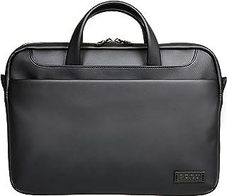 Port Designs Zurich Top Loading Padded Case Shoulder Bag for 14/15.6-Inch Laptops, Black