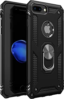 iPhone 7 Plus Case | iPhone 8 Plus Case [ Military Grade ] 15ft. Drop Tested Protective Case | Kickstand | Compatible with Apple iPhone 8Plus / iPhone 7 Plus Case - Black