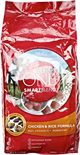 Purina ONE Smartblend Chicken and Rice, Dog Food, 8 lb