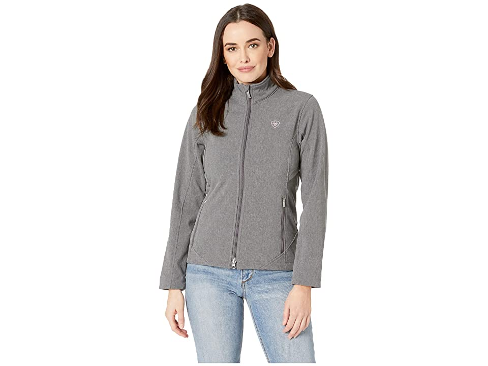 Ariat Journey Softshell Jacket (Charcoal Grey) Women