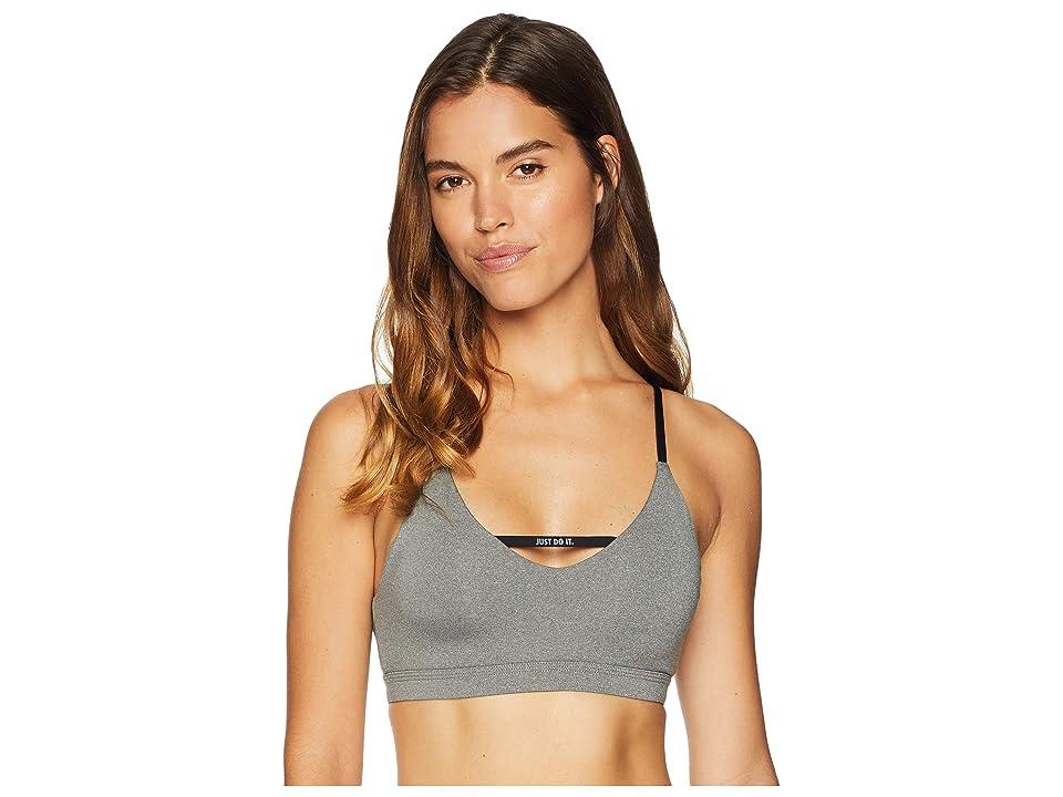 Nike Indy JDI Bra (Carbon Heather/Black/White) Women
