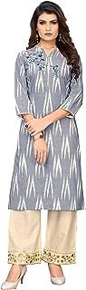 Vbuyz Women's Cotton Straight Kurti(VF-KU-459)