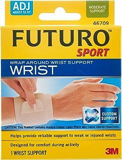 Futuro Sport Wrap Around Wrist Support, Beige, Adjustable