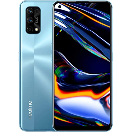 "realme 7 Pro, Display Super AMOLED 6.4"", Processore Otto - Core Snapdragon 720G, 8 GB RAM + 128 GB ROM, Fotocamera Quadrupla Sony da 64 MP + Fotocamera Selfie 32 MP, Argento"