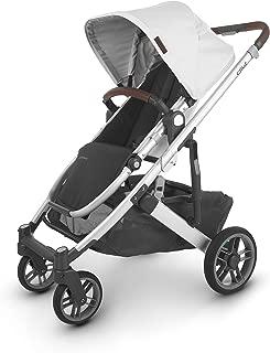 Cruz V2 Stroller - Bryce (White Marl/Silver/Chestnut Leather)