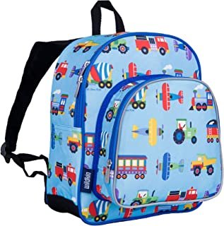 Wildkin 12 Inch Backpack Pack 'n Snack Planes, Trains and Trucks