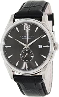 Hamilton Men's H38655785 Jazzmaster Slim Petite Seconde Black Dial Watch