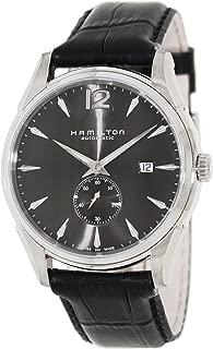 Men's H38655785 Jazzmaster Slim Petite Seconde Black Dial Watch