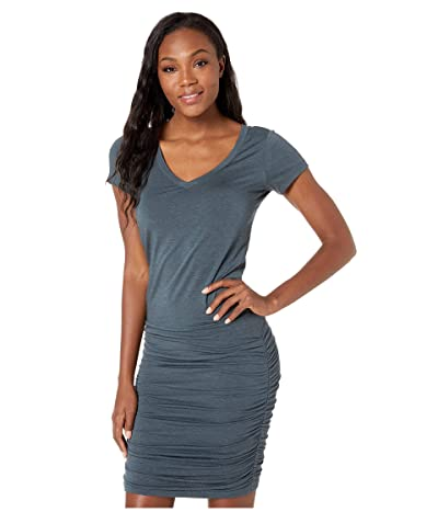 Prana Foundation Dress (Grey/Blue Heather) Women
