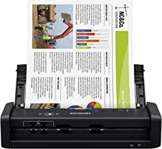 Epson Workforce ES-300W Wireless Color Portable Document Scanner with ADF for PC and Mac, Sheet-fed and Duplex Scanning