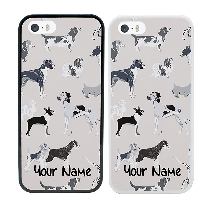 Dogs Personalised Phone Case for Apple iPhone 8 Smartphone Custom Cover Personal Your Name Bumper 4.7