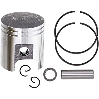 GOOFIT 39mm Piston Kit Assembly for 50cc Horizontal Engine ATV Dirt Bike Go Kart K082-036