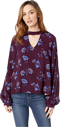 2105 Floral Herringbone
