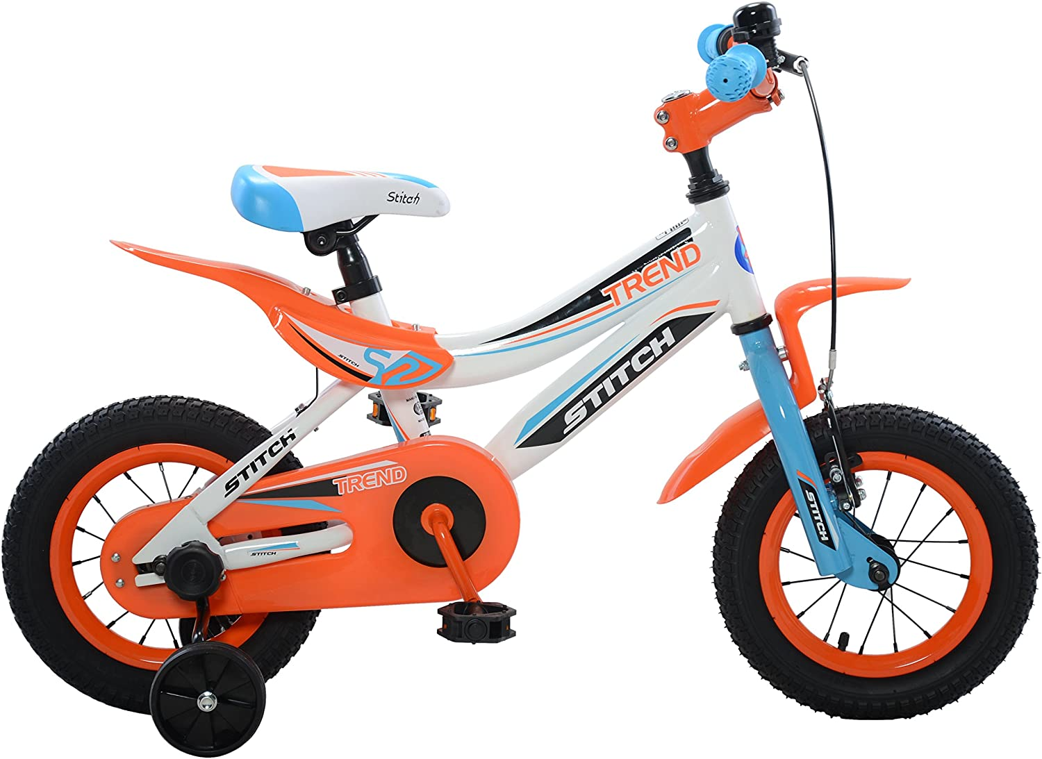 Stitch Trend Boy's Bike, 12 or 16 inch wheels