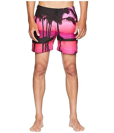 Orlebar Brown Bulldog Photographic Paradise Swim Shorts (Paradise Skies) Men