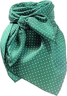 Green Polka Dot Wild Rag