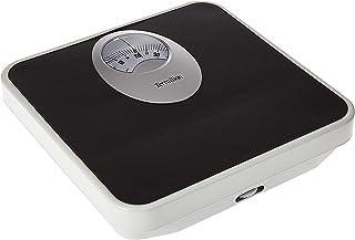 Terraillon Bathroom Mechanical Scale, Black, 120 Kgs, TER.13200