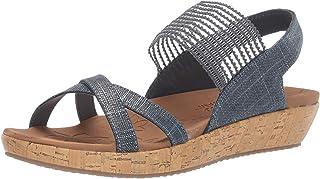 Skechers BRIE - Sparkle Stretch Vamp Sling Back Sandal womens Sandal