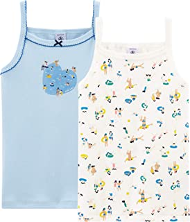 Petit Bateau Girls Chemise Tank Top All Colors 2 3 8 NWT $18
