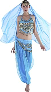 Best Seawhisper 12 Colors Belly Dance Costumes India Dance Outfit Halloween Review