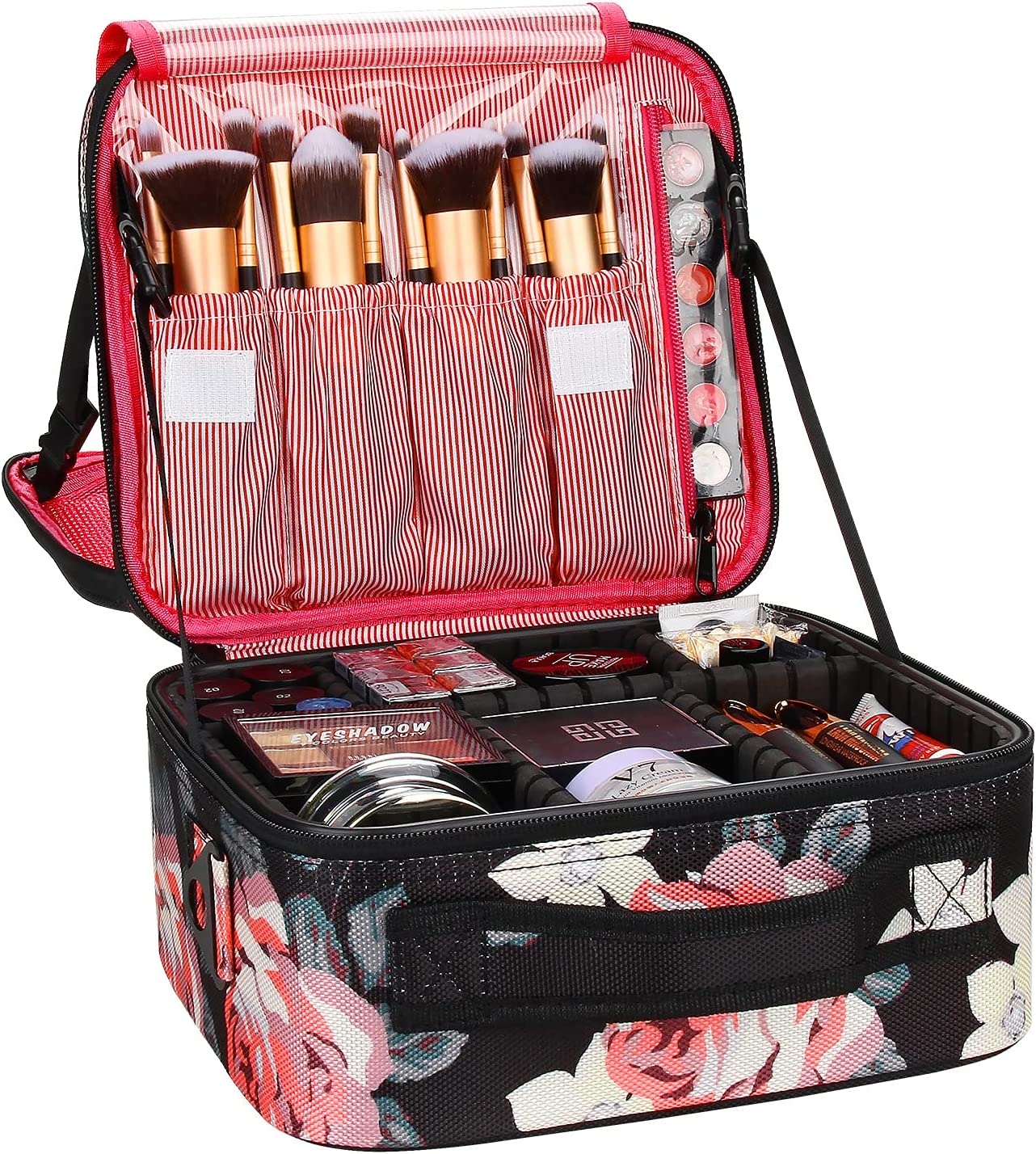 NEW Travel Makeup Case Chomeiu- Org Bag Cosmetic Professional