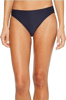Sea Side Texture Classic Bikini Bottoms