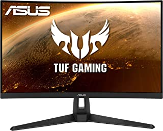 ASUS TUF Gaming VG27WQ1B Curved Gaming Monitor – 27 inch WQHD (2560x1440), 165Hz(Above 144Hz), Extreme Low Motion Blur™, A...