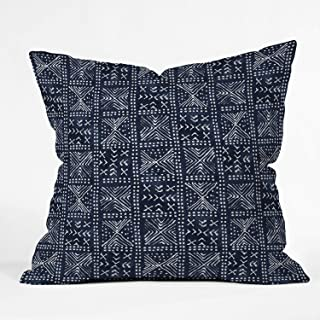 """Deny Designs Dash and Ash Just moody Indoor Throw Pillow, 16"""" x 16"""""""