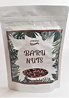 Baru Nuts, Avoria's Crunchy Unsalted, Roasted Baruka Nuts, Unique, Unmatched Flavor,Low Calories, High Protein and Fiber, ...