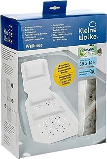 Kleine Wolke Wellness Wkładka do Wanny, Pcw, Biały, 36x145 cm