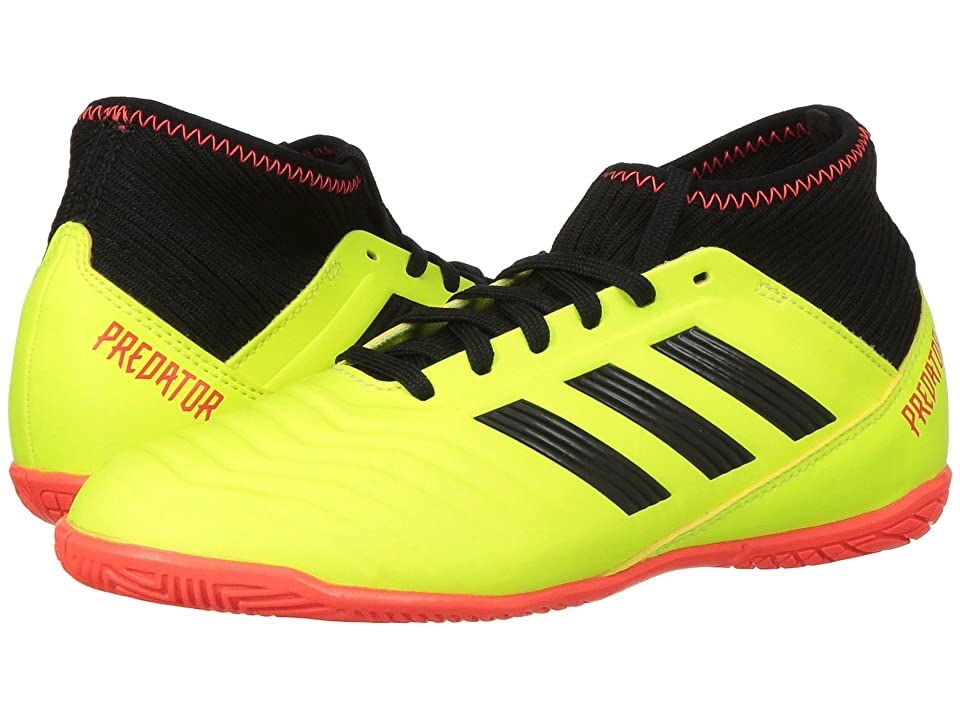 adidas Kids Predator Tango 18.3 TF Soccer (Little Kid/Big Kid) (Solar Yellow/Black/Solar Red) Kids Shoes