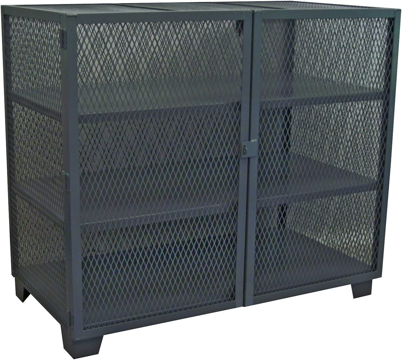 Jamco Products Inc Bombing new work MC460-BL Stationary Mesh Cabinet All items in the store Security 36