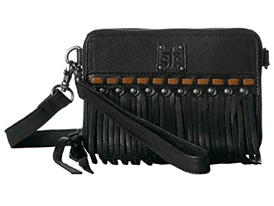 STS Ranchwear Fringe Package Deal Crossbody (Black) Handbags