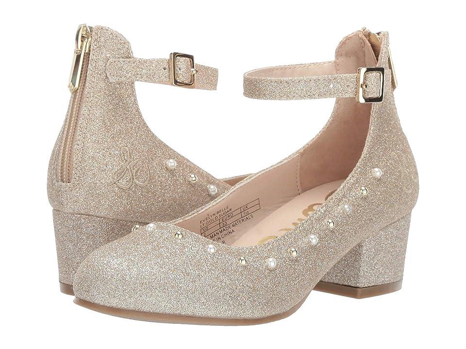 Sam Edelman Kids Evelyn Belle (Little Kid/Big Kid) (Light Gold Sugar) Girls Shoes