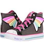 SKECHERS KIDS - Twinkle Toes - Shuffles 10707L Lights (Little Kid/Big Kid)