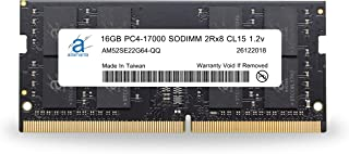 Adamanta 16GB ( 1x 16gb )ノートPCメモリアップグレードfor Acer Aspire VX 15vx5–591G ddr42133MHz pc4–17000SODIMM 2rx8cl151.2...