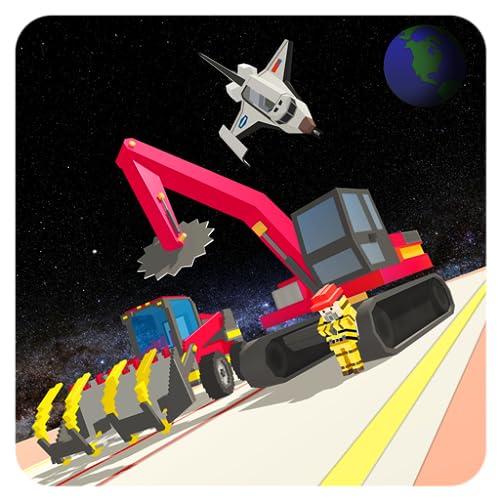 Construção do vôo da estação espacial avançada: Galaxy Builder