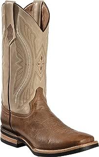 Men's Distressed Kangaroo Cowboy Boot Wide Square Toe - 10893-15
