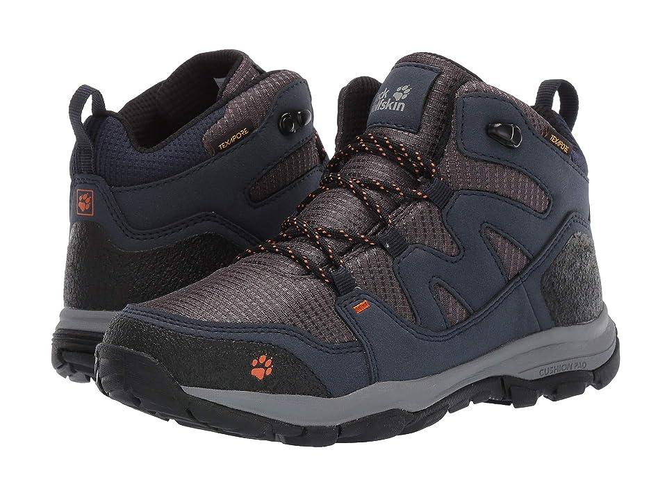 Jack Wolfskin Kids Mountain Attack 3 Texapore Mid (Toddler/Little Kid/Big Kid) (Night Blue) Boys Shoes