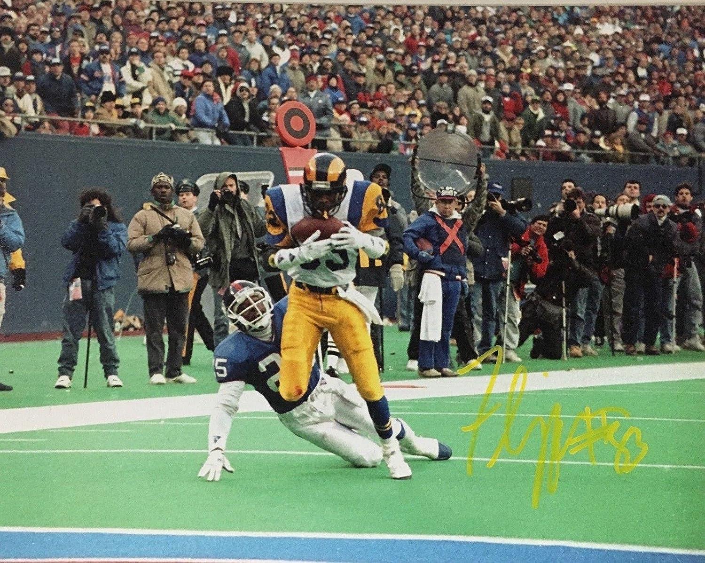 Flipper Anderson Signed Photo  Willie 8x10 LA 336 Yards BAS COA 2  Beckett Authentication  Autographed NFL Photos